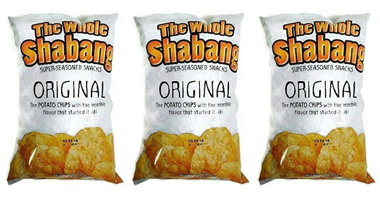 Juego de 3 chips de patata de Shabang (chips originales ...