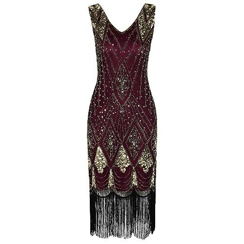 Leeds 1920 Flapper Dresses