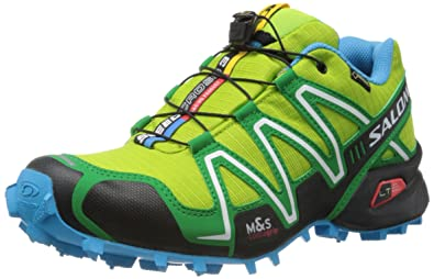photos officielles 072cd baa6f SALOMON Speedcross 3 GTX, Homme de Speedcross 3 GTX Vert Bio ...