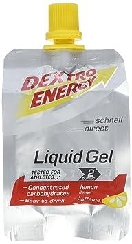 Dextro Energy Liquid Gel Box 18 Beutel 60ml - Lemon+Koffein