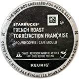 Starbucks French Roast Dark Roast Kcups, 60Count