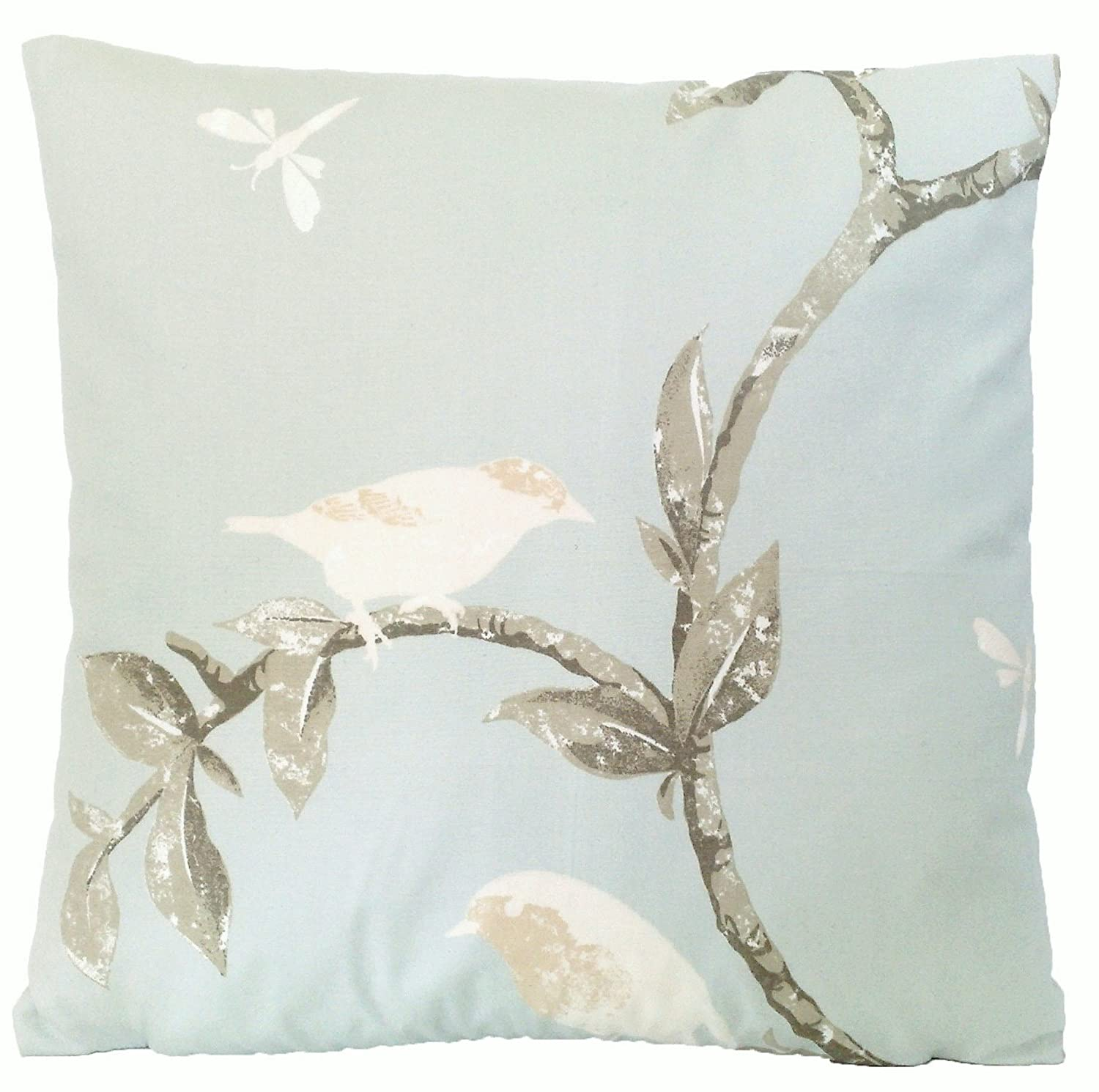 Amazoncom Nina Campbell Birds On A Tree Cushion Decorative Pillow