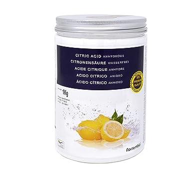 28b6357b714 NortemBio Acide Citrique 1 Kg. Poudre Anhydre