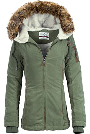 Urban Surface - Chaqueta - Parka - para Mujer: Amazon.es ...