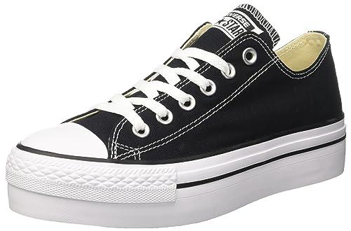 zapatillas converse negras mujer