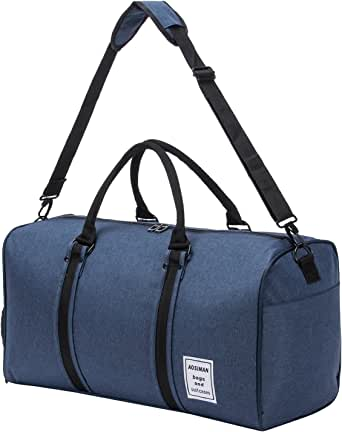 Travel Duffel Backpack Luggage Gym Sports Bag Large Tote Portable 3-Way