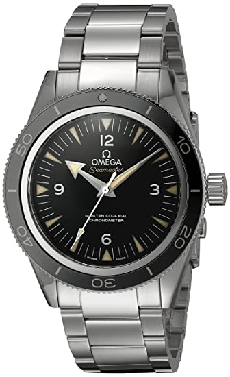 Omega Seamaster - Reloj (Reloj de pulsera, Masculino, Acero inoxidable, Acero inoxidable