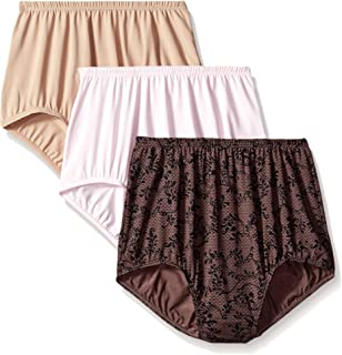 74ec4ab1d28e Olga Women's Without a Stitch Lace Hi-Cut Brief Panty Pack at Amazon ...