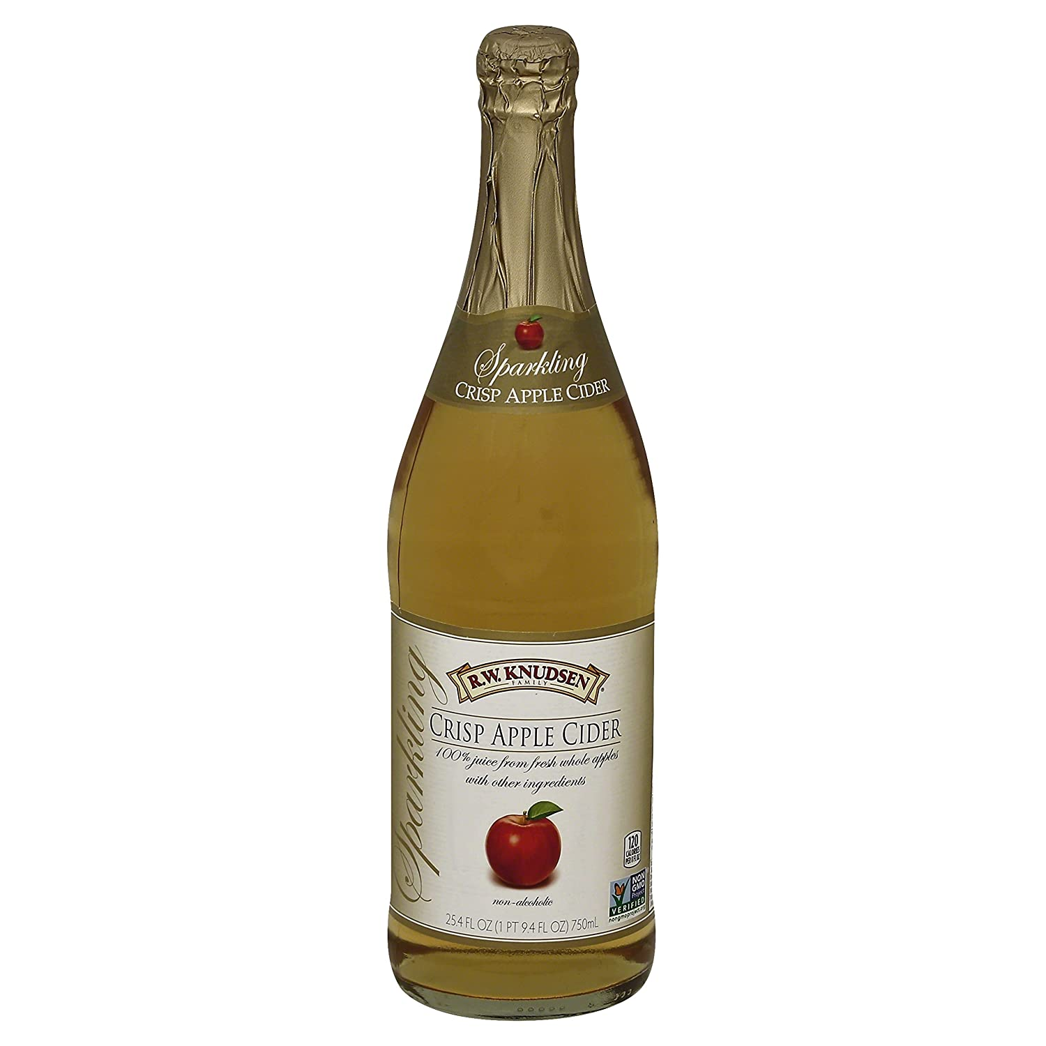 Knudsen, Sparkling Crisp Apple Cider, 750 ml