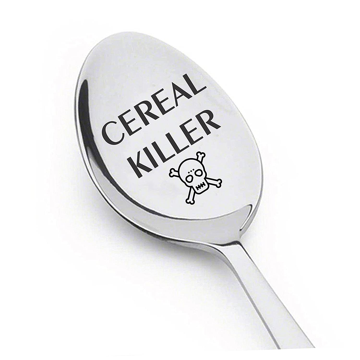 Cereal Killer Spoon - Perfect Cereal Lover Gift-Cereal Spoon Best Teenager Gifts On The Market - Crafted by LYF Collections
