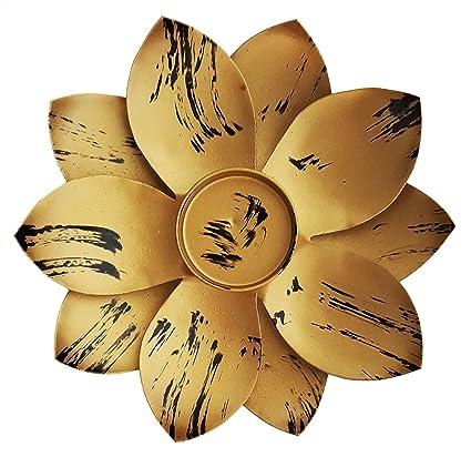 Amazon mehrunnisa lotus flower shape votive tea light holder mehrunnisa lotus flower shape votive tea light holder meh1424 mightylinksfo