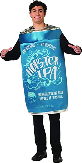 Six Pack Of Beer Adult Funny Party Halloween Shirt Costume-One Size SHIPS FREE
