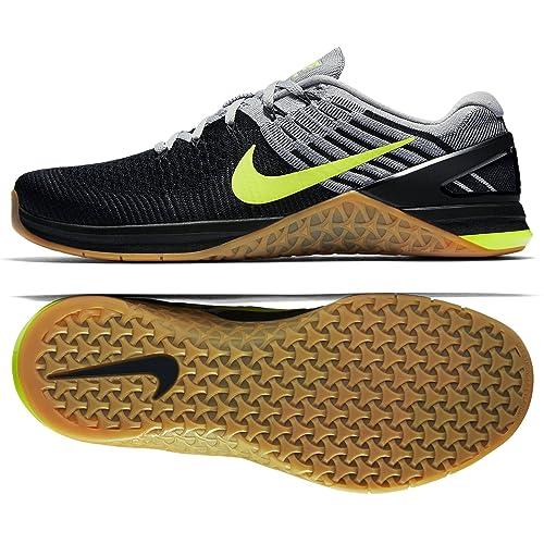 Da Dsx Scarpe In Colore Grigio Tessuto Metcon Uomo Flyknit Nike tv7ww