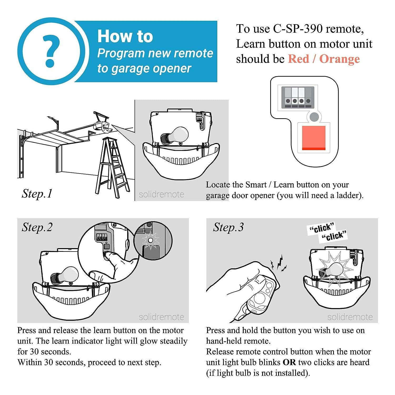 How To Program A Chamberlain Garage Door Opener 953cb