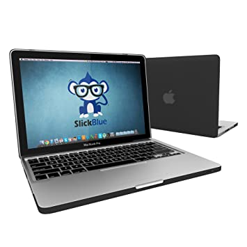 Amazon.com: MacBook Pro 13 Caso, SlickBlue goma Soft-Touch ...