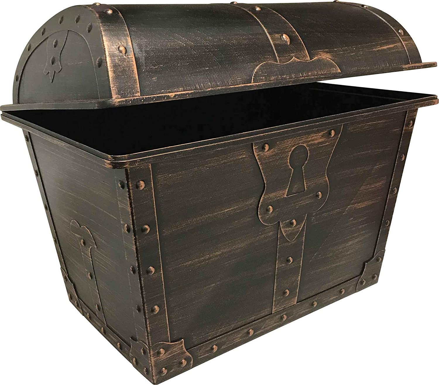 Teacher Created Resources Large Plastic Treasure Chest Classroom Rewards Pirate Party Goody Box, Model:TCR8759