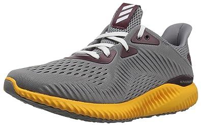 adidas Performance Men's Alphabounce Em u Running Shoe,Grey/Collegiate  Gold/Black,