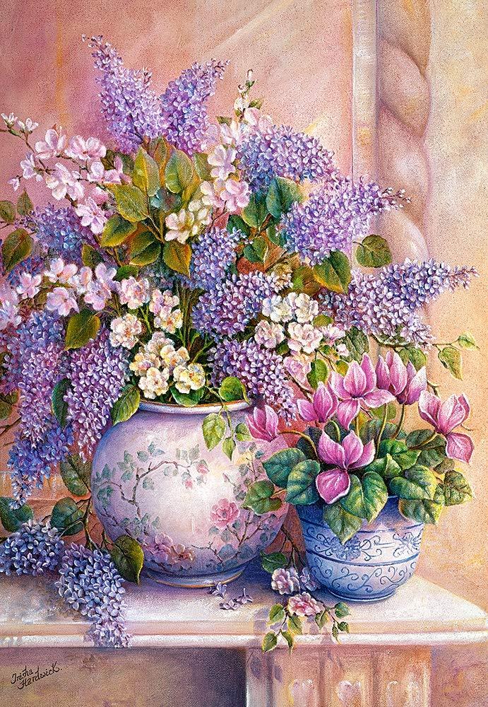 Castorland Lilac Flowers Jigsaw Puzzle