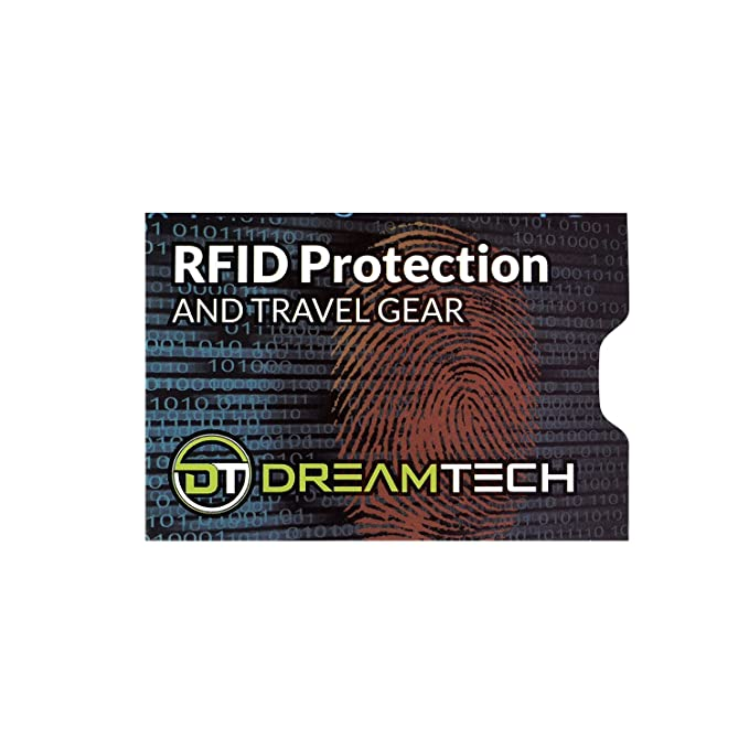 Amazon.com: DreamTECH RFID Blocking Sleeves with Unique ...