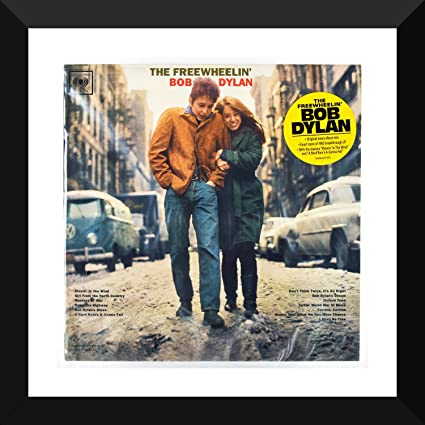 Music And Musicians Poster Collection The Freewheelin Bob Dylan