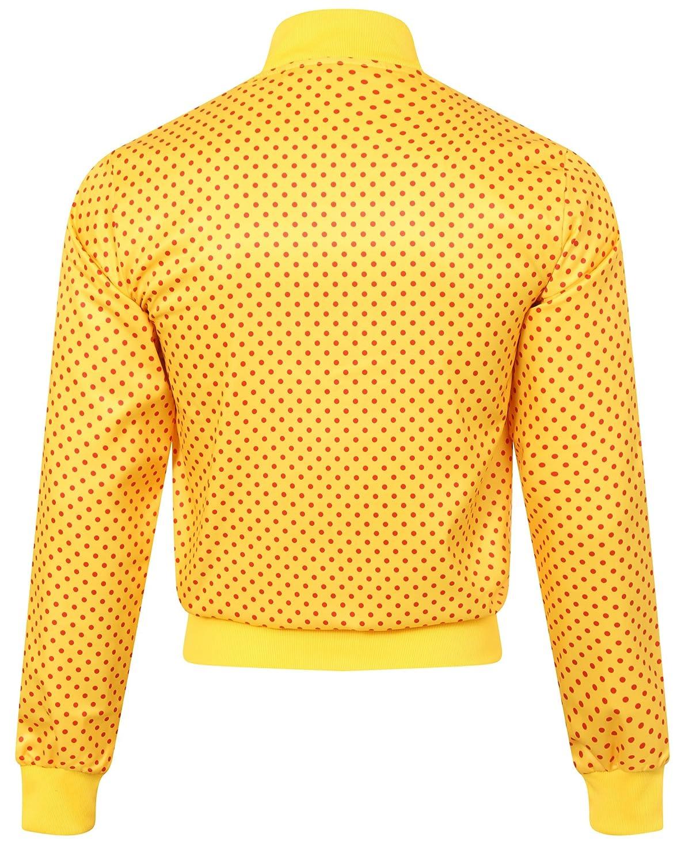 c927a825649 adidas Originals Pharrell Williams Dot Yellow Track Jacket Size XS,  Exercise & Fitness - Amazon Canada
