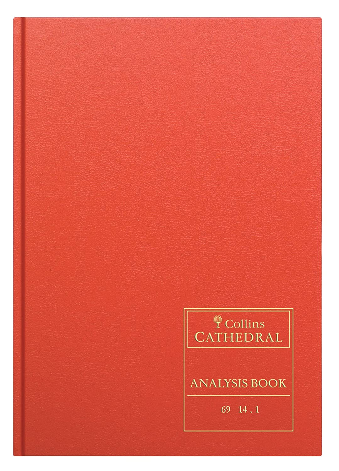 Collins 060602 69 Series Cathedral A4 Analysis Book, 14 Cash Columns ...
