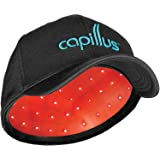 Capillus82 Mobile Laser Therapy Cap for Hair Regrowth - NEW 6 Minute Flexible-Fitting Model - FDA-Cleared for Medical Treatment of Androgenetic Alopecia - Great Coverage