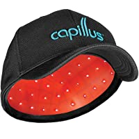 CapillusUltra Mobile Laser Therapy Cap for Hair Regrowth - NEW 6 Minute Flexible-Fitting...