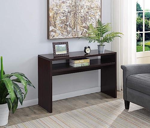 Convenience Concepts Northfield Deluxe Console Table, Espresso