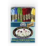 DMC 117F25-HDC Embroidery Home Decor Floss Pack, Assorted Color, 8.7-Yard, 36/Pack