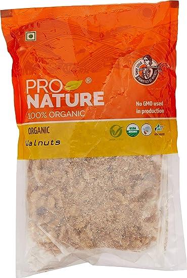 Pro Nature 100% Organic Walnuts, 200g