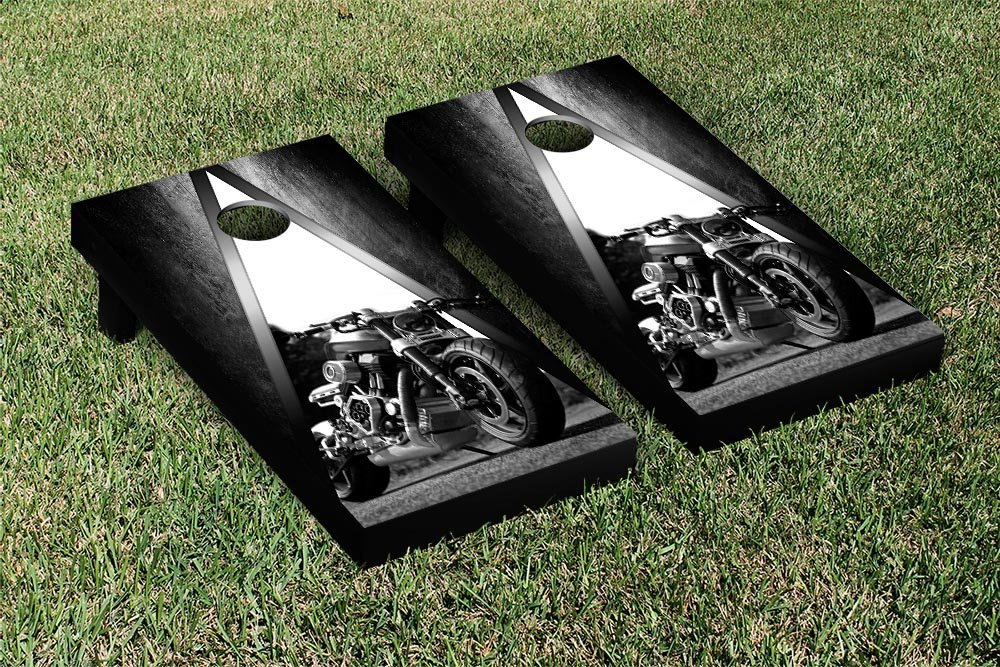 Motorcycle Cornhole Game Set B009W7C4O2