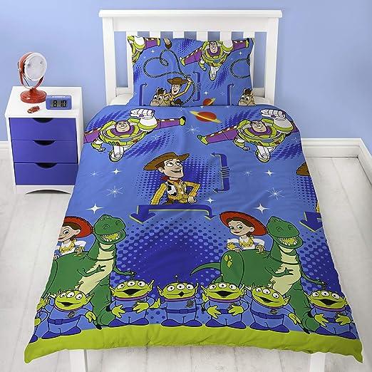 Copripiumino Toy Story.Amazon Com Single Duvet Disney Toy Story Friends Single