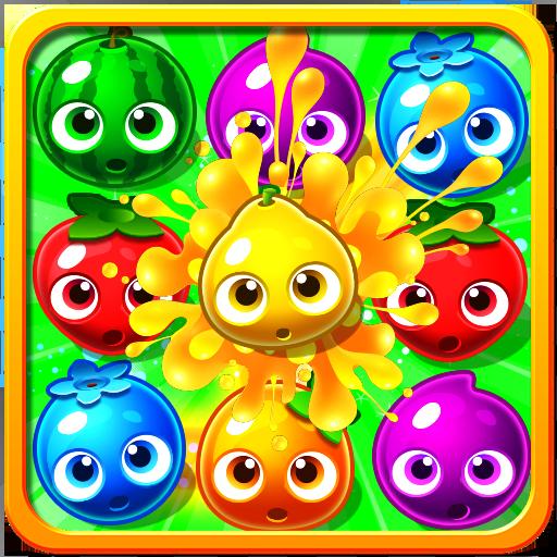 Italian Charm Fruit (Fruit Splash - Match 3 Connect Three Games)