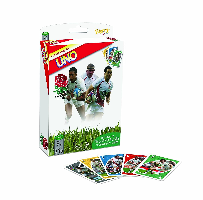 Amazon.com: England Rugby RFU – Juego de cartas UNO: Toys ...