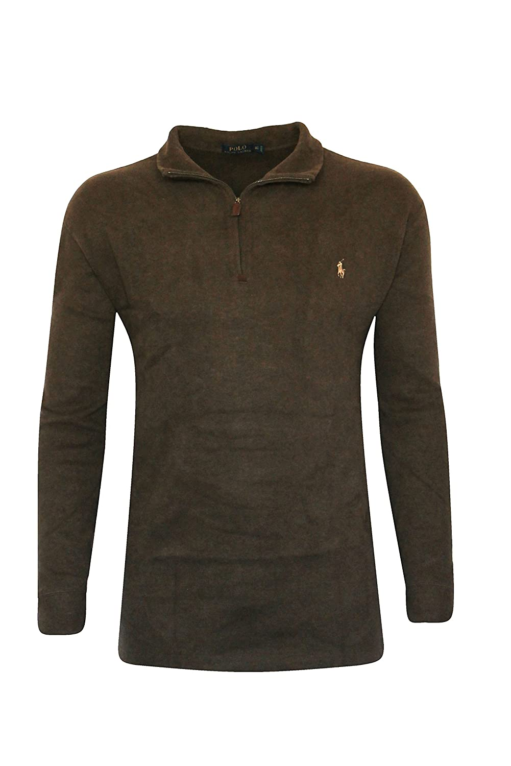Polo Ralph lauren Mens Big and Tall PIMA COTTON HALF-ZIP SWEATER