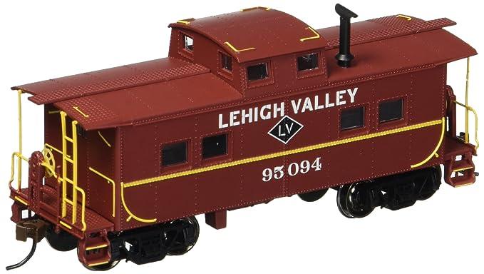 Bachmann Industrias Lehigh Valley # 95094 noreste Acero Caboose (escala HO tren)