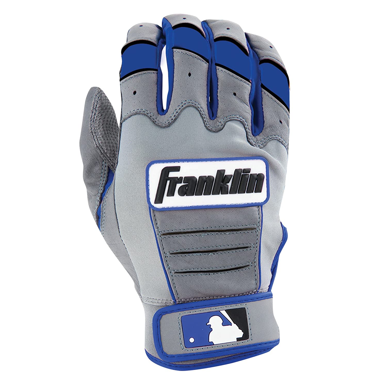 Franklin (フランクリン) スポーツ MLB CFX Pro バッティング グロ―ブ B00N4M4Q2E XL|グレー/ロイヤル グレー/ロイヤル XL