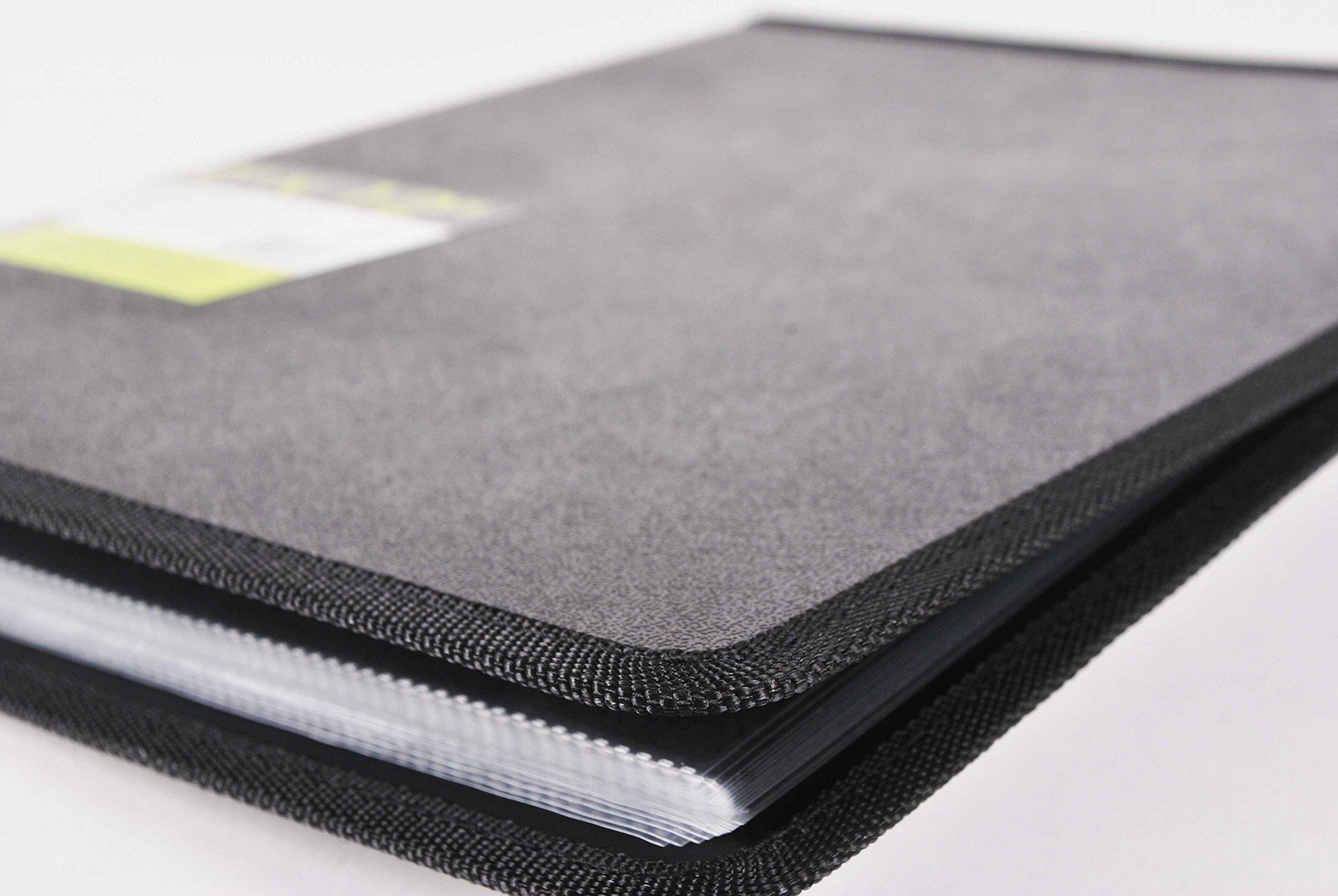 Filexec, 93630, Art Presentation Book, 24 Pocket, 11'' x 14'', 1 Each Black by Filexec