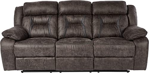 Homelegance Oliver 86″ Microfiber Double Reclining Sofa Manual