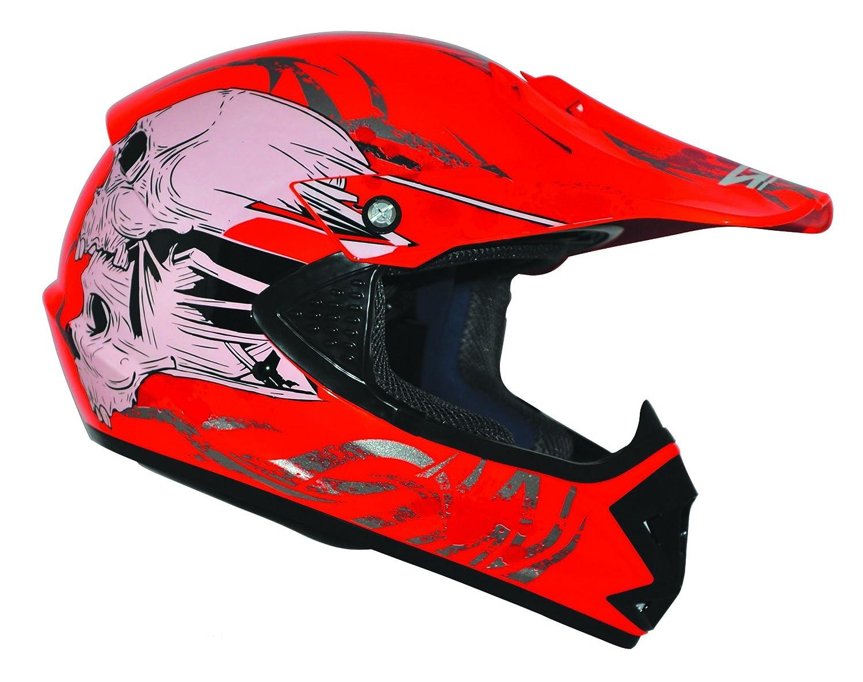 Kids Pro Kinder Crosshelm Rot Gr/ö/ße S 55-56cm Kinderhelm Kinder Cross BMX MX Enduro Helm