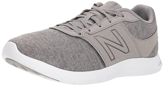 New Balance Women's 415v1 CUSH + Sneaker, Grey, 8 B US
