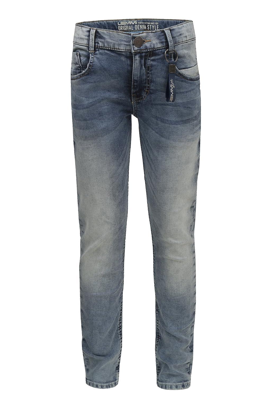 Lemmi Hose Jeans Boys Tight Fit SUPERBIG Jungen Kinder, Kinder 1880131065