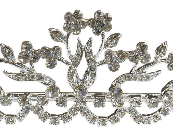 10k Gold Prism Jewel 0.15Ct G-H//I1 Natural Round Diamond Olive Leaf Style Vine Ring
