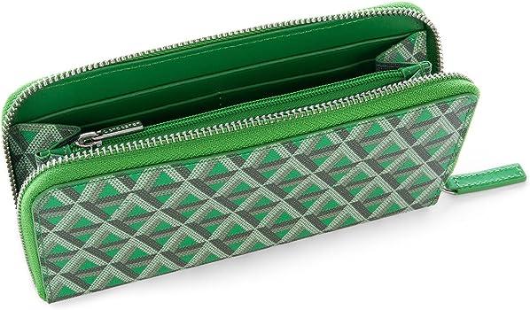 Lancaster PARIS - Cartera para mujer de piel Mujer Verde verde Talla De La Marca Talla única: Amazon.es: Ropa y accesorios
