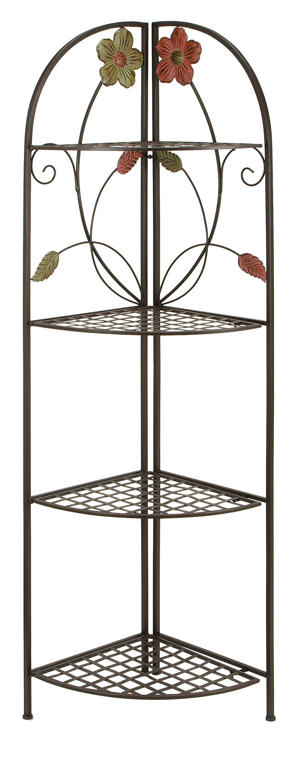 Deco 79 63066 Metal Corner Rack, 22 by 64-Inch by Deco 79