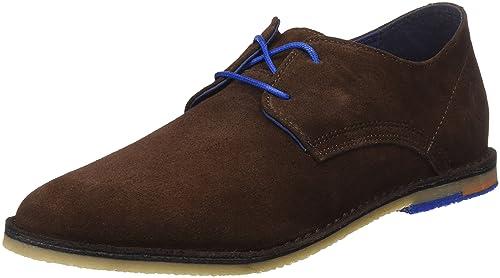 El Ganso M, Zapatos de Cordones Oxford para Hombre, Marrón (Marrón), 44 EU