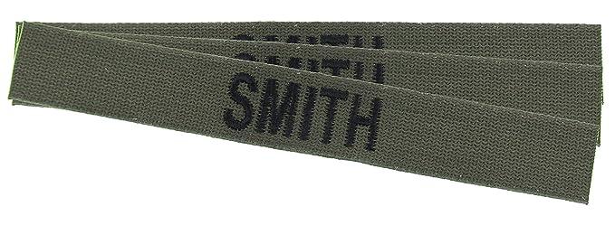 Amazon.com: Custom O.D. Verde Militar Nombre cintas – 3 Pack ...