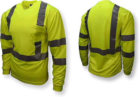 Inc Radians ST31-2PGS-4X Cooling T-Shirt High Visibility Green 4X-Large