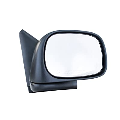 Dependable Direct Right Passenger Side Mirror - Power Operated, Textured, Heated, Folding for Dodge Ram 1500 2500 3500 (2002 2003 2004 2005 2006 2007 2008 2009 2010) - CH1321215: Automotive